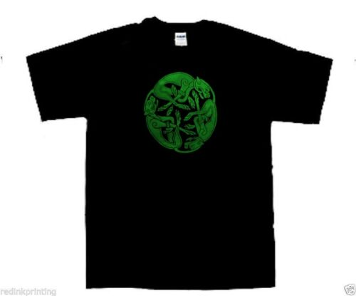 Celtic dogs symbol t shirt celtic pagan Small to 2 Extra Large