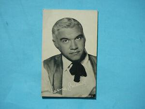 1947-66-TELEVISION-amp-ACTORS-EXHIBIT-CARD-PHOTO-LORNE-GREENE-SHARP-EXHIBITS