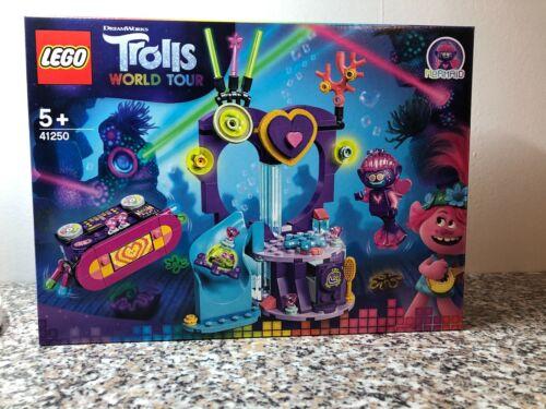 41250 Trolls World Tour ohne Figuren Lego ® NEU Party am Techno Riff