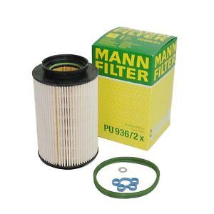MANN-Kraftstofffilter-PU936-2x-fuer-Audi-Seat-Skoda-VW-1-9-2-0-TDI-DIesel