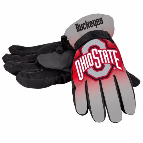 Ohio State Buckeyes Gloves Big Logo Gradient Insulated Winter Unisex S//M L//XL