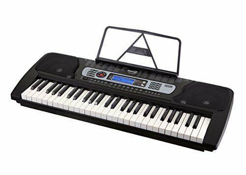 Keyboard Notenständer RockJam RJ654  tragbares 54-Tasten Digital Elektronik