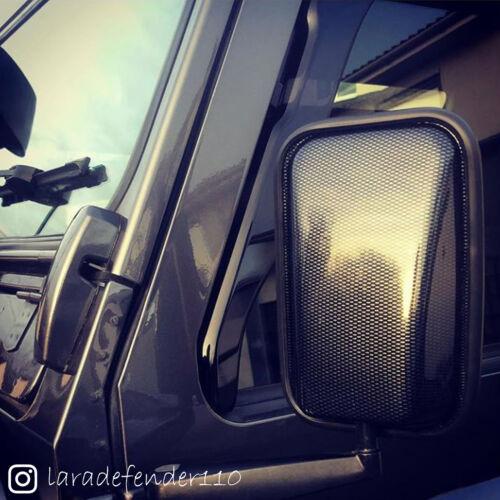 RDX Carbonio Coperture Specchietto Defender 90 110 TDI Td5 TDCi