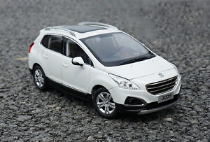 1-18-scale-peugeot-3008-SUV-White-DIECAST-Car-Model-Toy-Collection