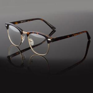 Clear-Lens-Fashion-Glasses-Retro-Horn-Rim-Nerd-Geek-Men-Women-Hipster-Eye-Frame