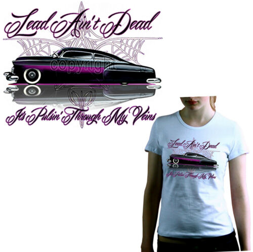 * T-Shirt Damen Ladies Girl-Shirt Lowrider Design classic car  Rockabilly  *1061