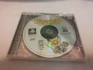 Kingsley-039-s-Adventure-Sony-PlayStation-1-1999-Case-and-Game-No-Manual