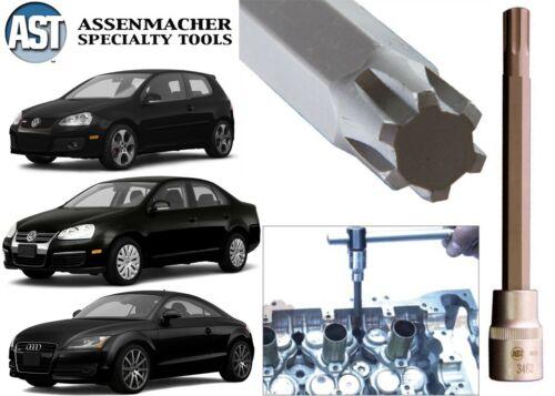 "Assenmacher 3462 1//2/"" Drive Head Bolt Socket Tool For VW Audi New Free Shipping"