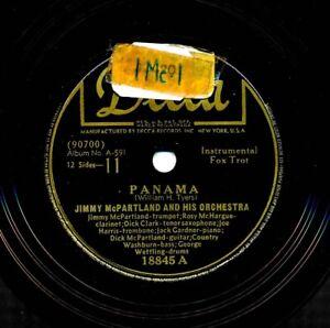 JIMMY-McPARTLAND-and-his-Orchestra-on-1946-Decca-18845-Panama-Eccentric