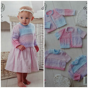 King Cole 5085 Baby Knitting Patterns