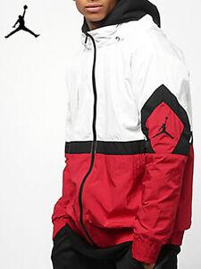 Injusto Contribución banda  Nike Air Jordan Diamante Pista Chaqueta para hombre XL Blanco Rojo Negro  Extra Grande | eBay