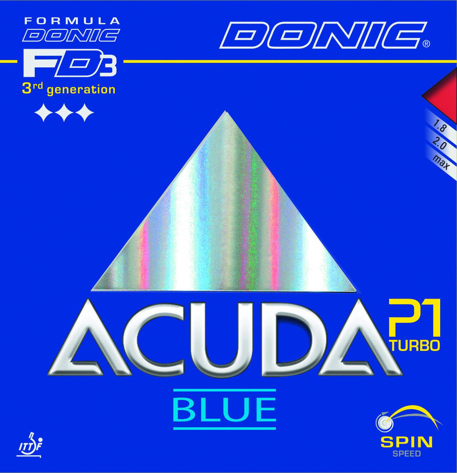 Donic Acuda Blau P1 Turbo Turbo Turbo cff081