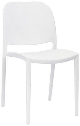 Chair for polypropylene exterior color white RS8896
