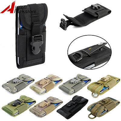 1000D Molle Belt Tactical Outdoor Cell Phone Pouch Case Bag for iPhone 5S 6 6S 7