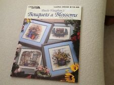 Paula Vaughan's Bouquets & Blossoms in Counted Cross Stitch Leisure Arts book 63