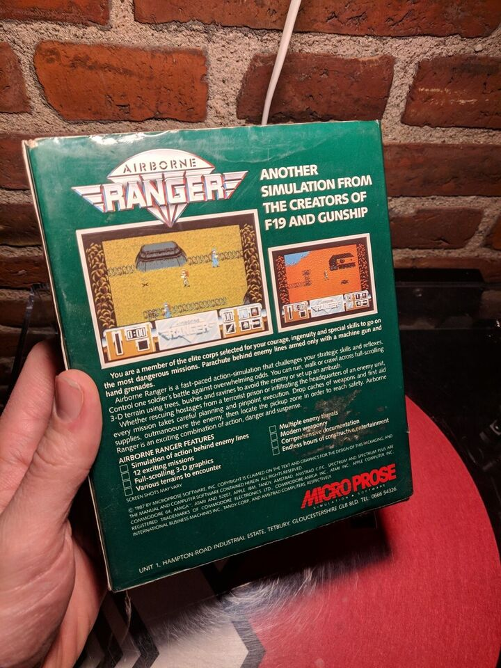 Airborne Ranger, IBM 3.5 AND COMPATIBLES