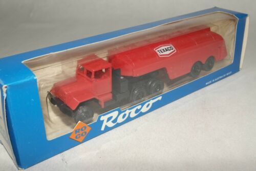 "Roco 1:87 H0 Nr.:1400 M52 Flugfeldtankwagen /"" TEXACO /"" rot OVP EC5114"