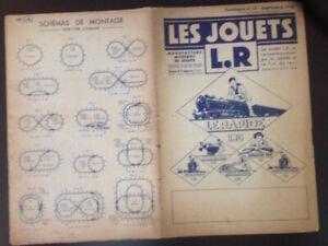 Catalogue Les Jouets Lr Louis Roussy Septembre 1938 - 28 Pages 2 Tarif