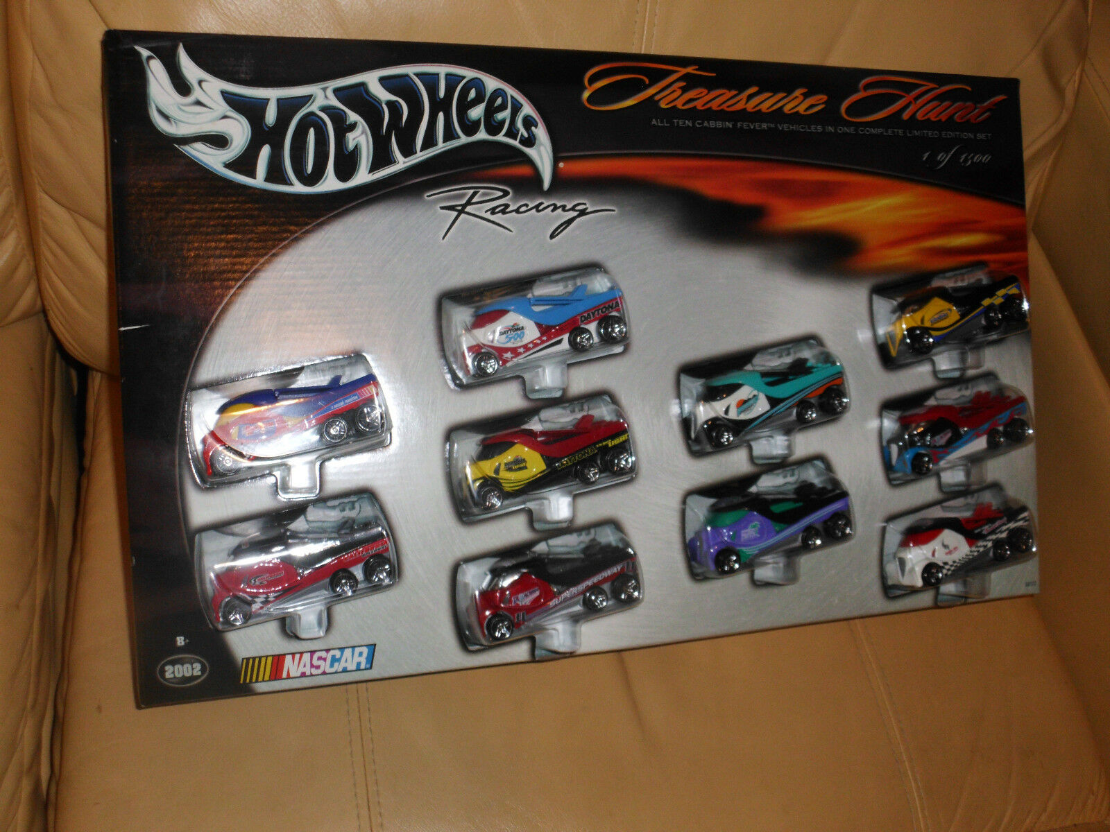 Edición LIMITADA HOT WHEELS RACING Treasure Hunt Cabbin 'fiebre 10 Car Set 1/1500