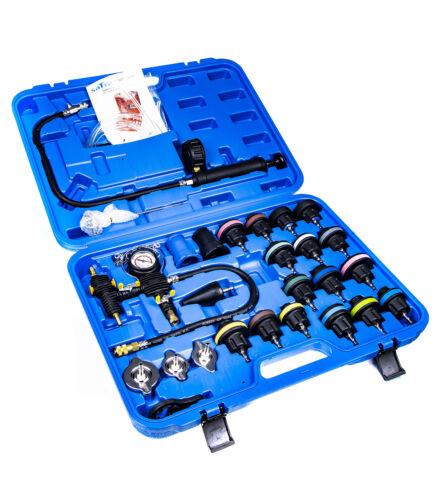 S-27PT Système De Refroidissement Testeur Pression Recharge 27 pièces Test Fuite Joint de culasse