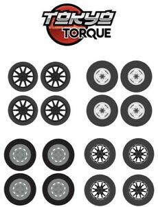 Auto-Body-Shop-Wheel-amp-Tires-Packs-Greenlight-Auto-Modell-1-64-16030-C