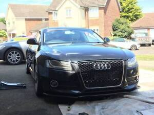 Audi-S5-A5-Performance-Splitter-Front-Bumper-Lip-Apron-spoiler-Cup-Chin-Valance