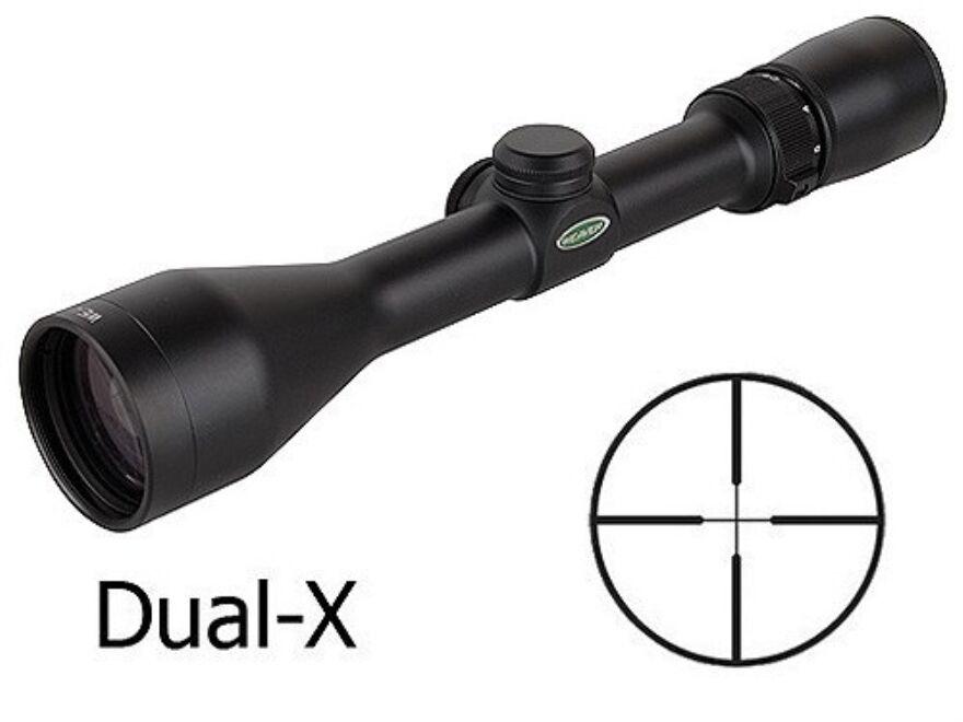 Weaver Kaspa Rifle Scope 3-9x40mm Dual-X Reticle 849806