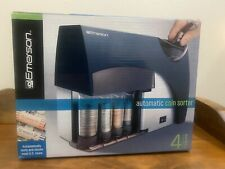 Emerson Automatic Coin Sorter Coin Wrappers Amp Batteries Included New In Box