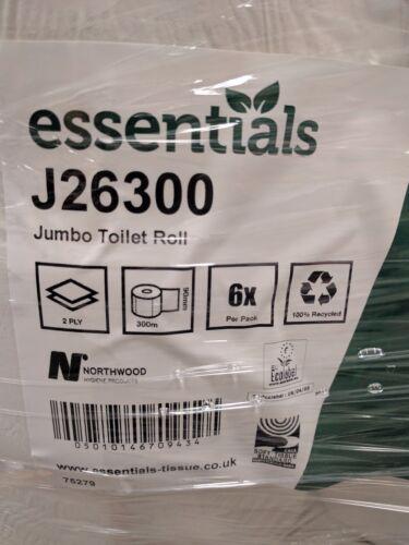 6 Rotolo Di Carta Igienica Mini Jumbo 300 metro libero consegna il giorno dopo acquista 2 ottenere 10/% di sconto