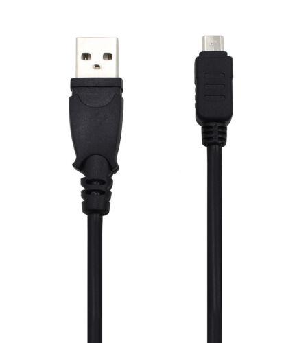 Usb Dc Power Cargador Data Sync Cable Cable Para Cámara Olympus CB-USB8 Sz-12 Sh-60