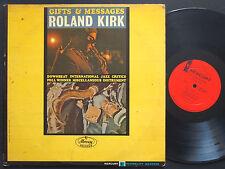 ROLAND KIRK Gifts & Messages LP MERCURY MG 20939 US 1964  DG MONO Horace Parlan