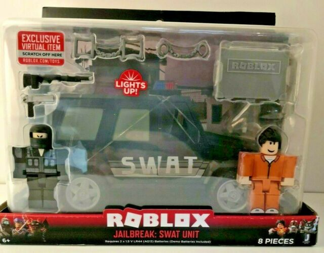 Roblox Jailbreak Swat Car Roblox Jailbreak Swat Unit Deluxe Vehicle For Sale Online Ebay