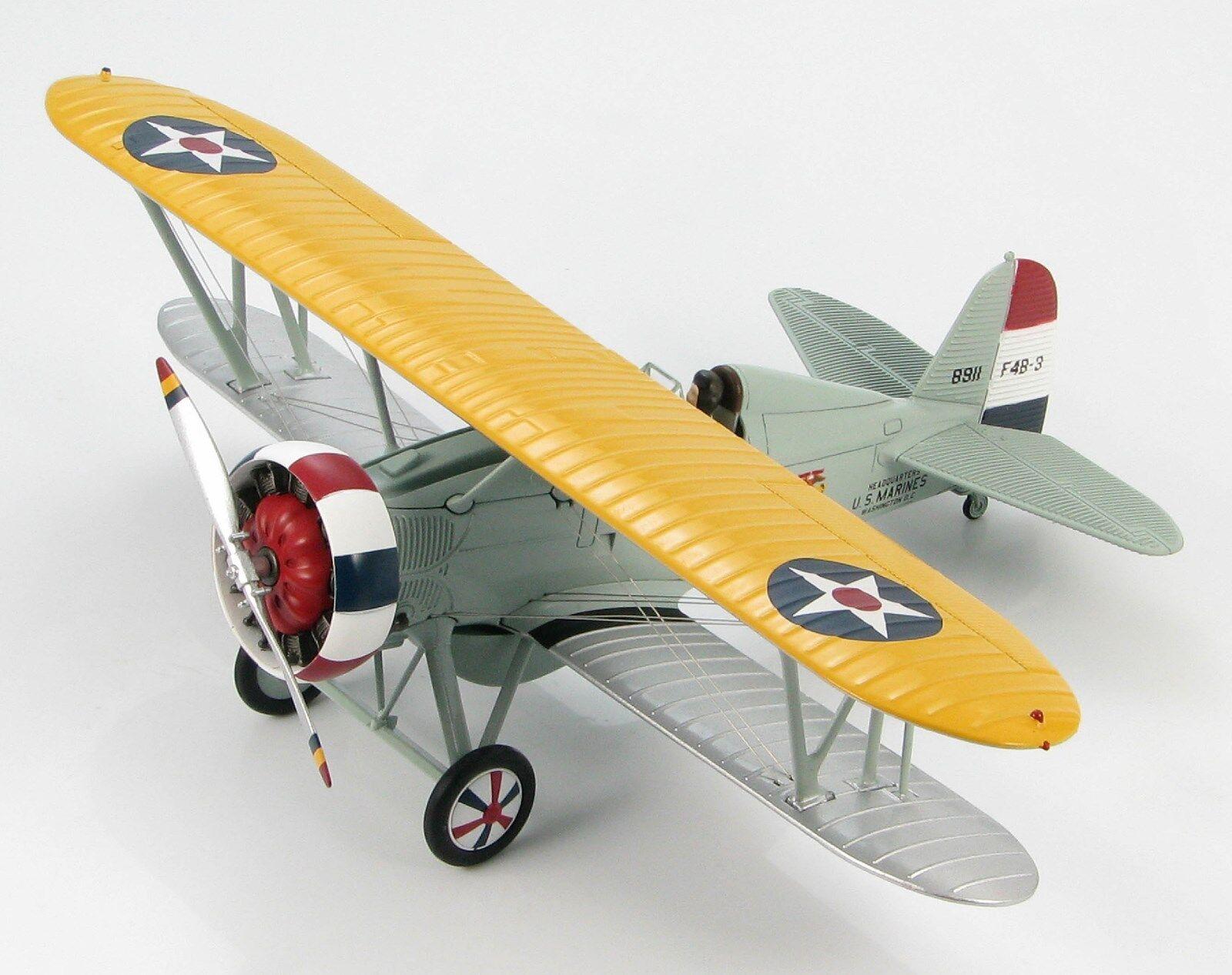 Hobby Master HA7908 Boeing F4B-3 Command Plane H.Q. US Marines NAS 1930s 1 48th.