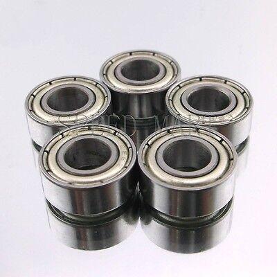 10 PCS Metal Double Shielded Ball Bearing Bearings 7*14*5 7x14x5 mm 687ZZ