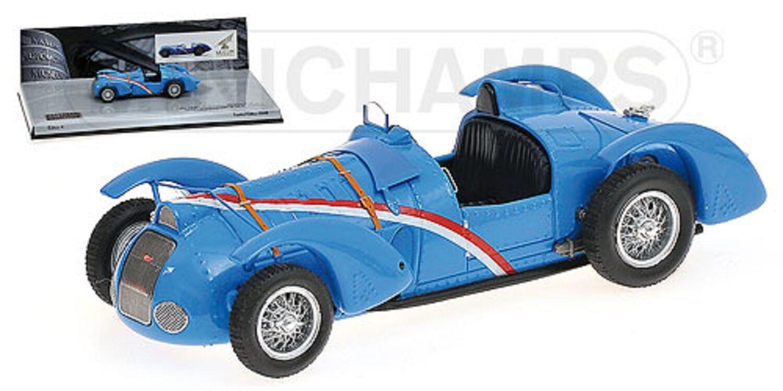 1 43 Delahaye Type 145 v-12 Grand Prix 1937 L. E. 1948 MINICHAMPS 437116100 neuf dans sa boîte