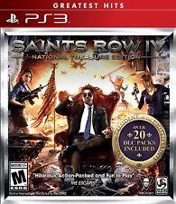 Saints Row 4 IV National Treasure Edition *New* PS3 (Sony PlayStation 3, 2014)
