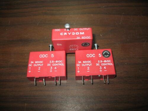 Lot of 3 Crydom ODC5 I//O Modules