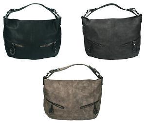 Betz-Damen-Handtasche-PARIS-4-Schultertasche-Umhaengetasche-mit-Reissverschluss