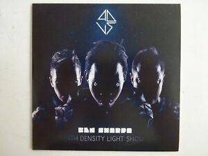 BEN-SHARPA-amp-PURE-SOLID-4DLS-FOURTH-DENSITY-LIGHT-SHOW-CD-Album-Promo
