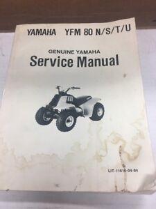 Genuine-Yamaha-Service-Manual-YFM80-YFM-80-N-S-T-U