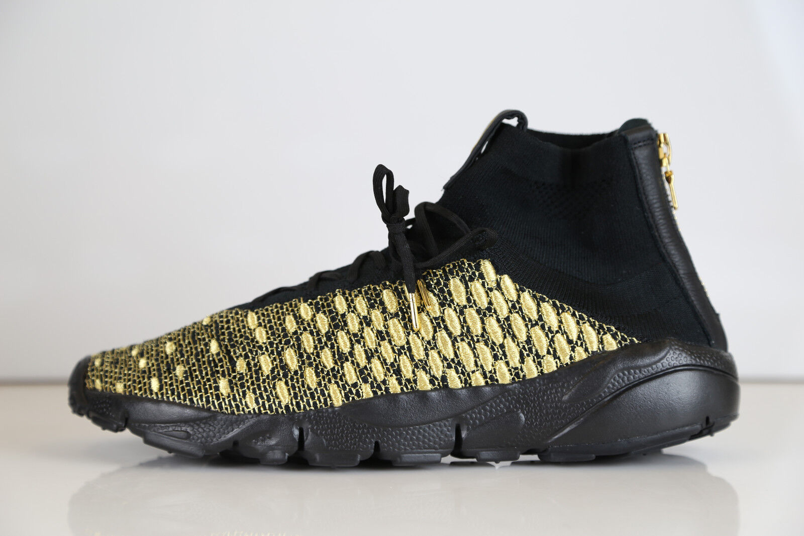 Nike Lab Air Footscape Magista QS LION nero oro Olivier 834905-007 10 10.5 1 3