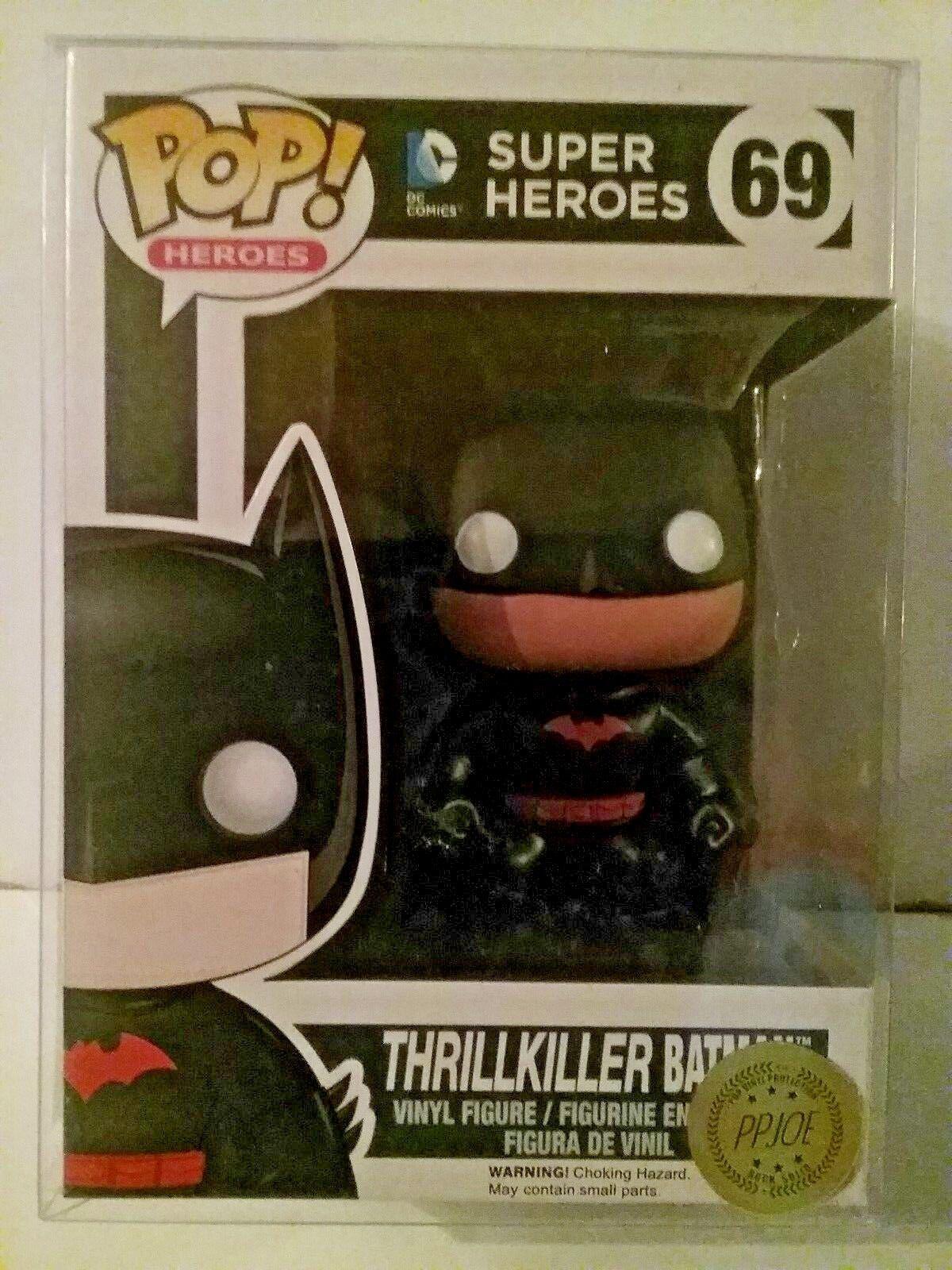 Funko Pop  Thrillkiller Batman from DC Comics Comics Comics Exclusive  pop predector 115d21