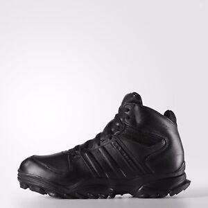 Adidas GSG 9.4 Military Boots Black Leather SWAT Combat German ... 83dd878e18