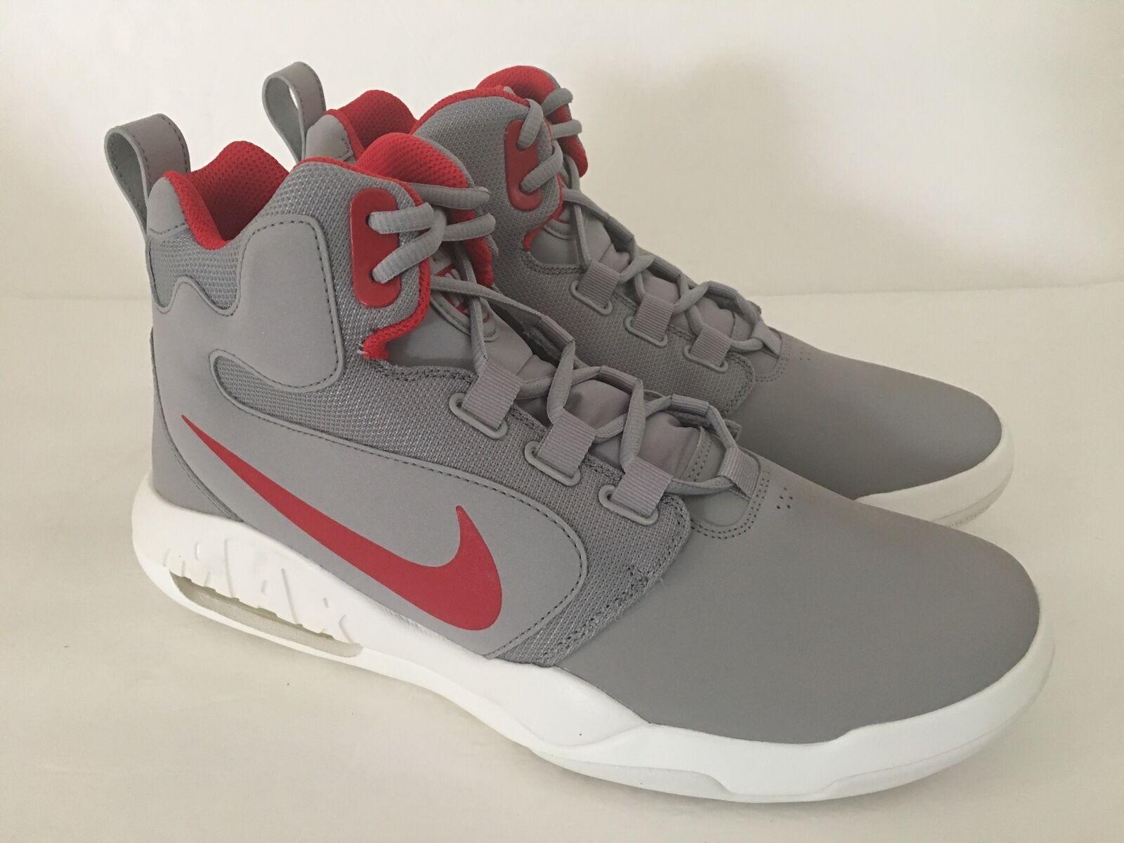 Men's Nike Basketball Shoes Sneaker Silver 10 M Air Conversion 861678 004