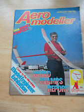 AEROMODELLER WITH RADIO CONTROL MODEL AIRCRAFT HOBBY MAG JAN 1980 WORLD CHAMPS