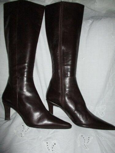PUC Womens Fashion Luzia Mirnar Dark brown leather