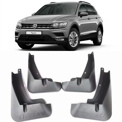 2009-2017 Volkswagen Tiguan Rear Splash Guards Set Left /& Right GENUINE OEM NEW