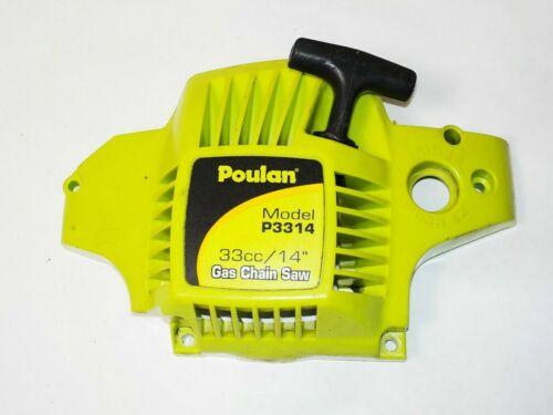 poulan p3314 chainsaw fan//start housing