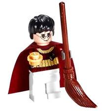 NEW LEGO HARRY POTTER MINIFIG figure minifigure 4737 quidditch match w/broom