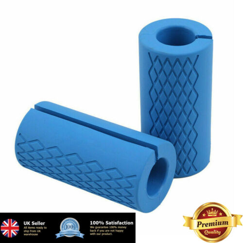 Thick Fat Barbell Silicone Grips Home Gym Arm Wrap Bar Dumbbell Grip for Weight